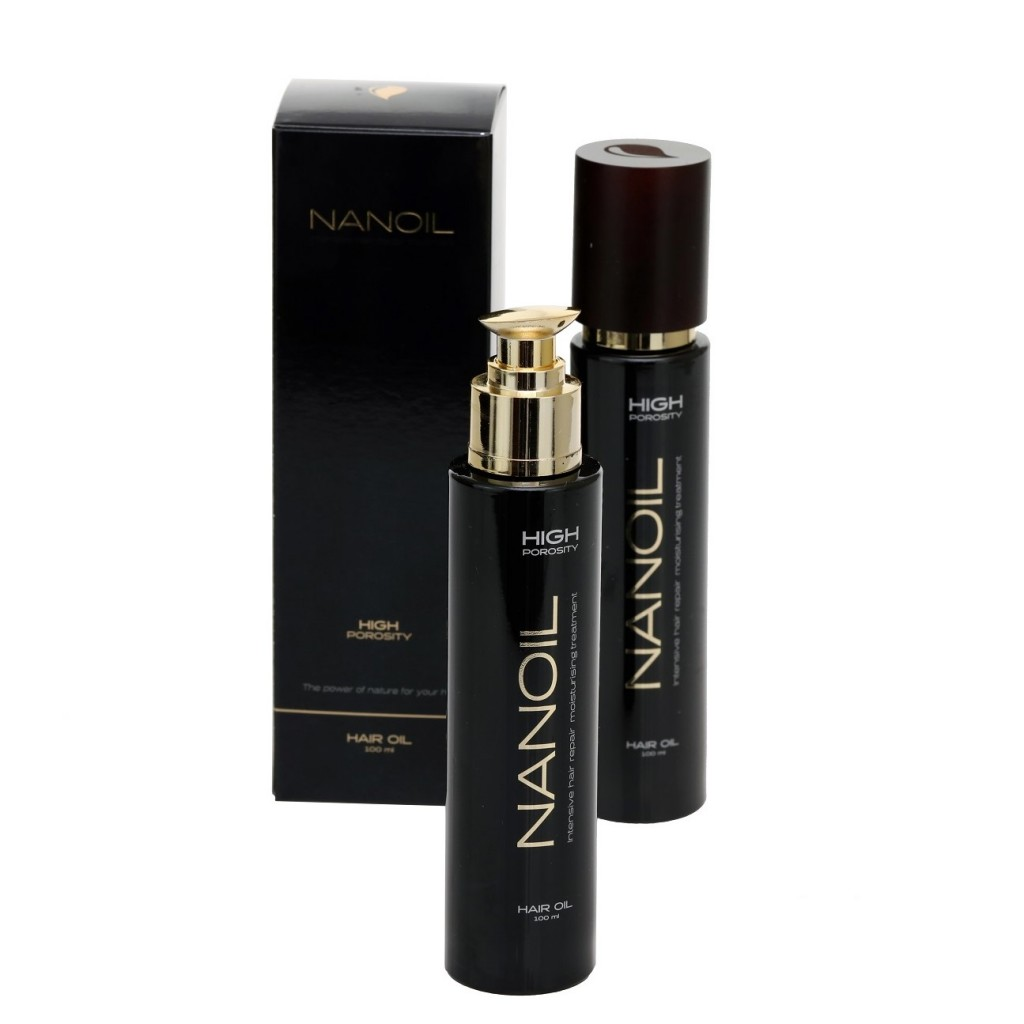 Olejek do włosów Nanoil z olejkiem kokosowym